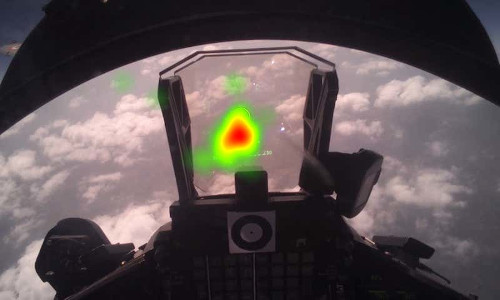Using eye-tracking to control a cockpit computer.